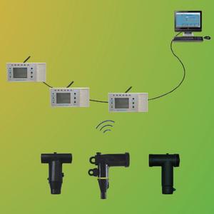 電纜頭無線測溫系統